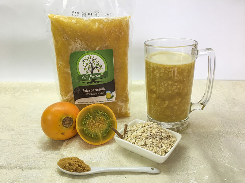 How to prepare Naranjilla Oats