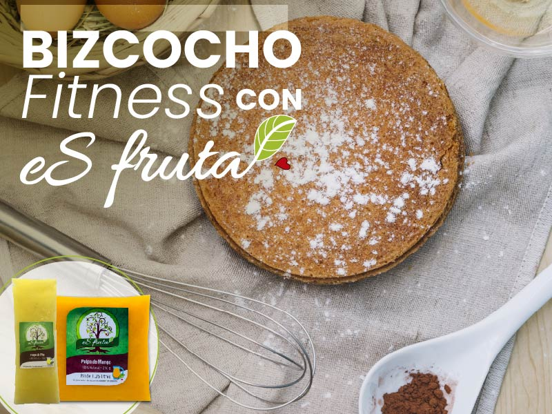How to prepare a fitness cake with fruit pulp?