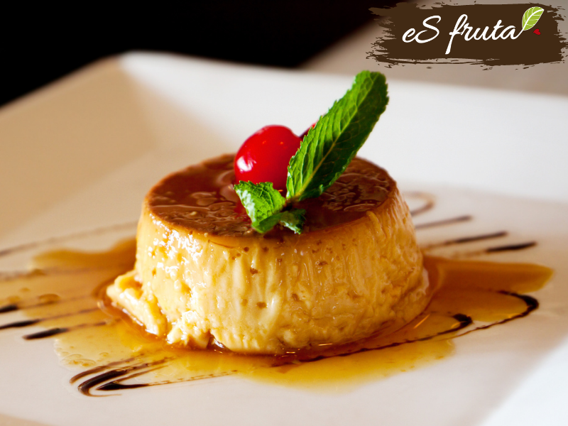 Pineapple Flan or Cheese with Pineapple Pulp