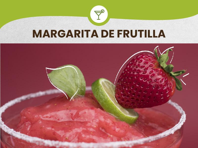 How to prepare a Strawberry Margarita with eSfruta Pulp