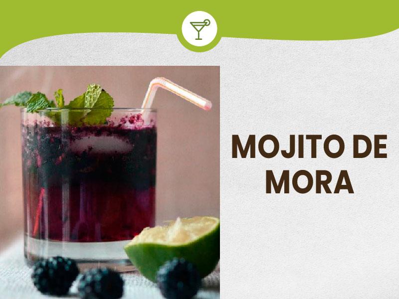 Prepare a delicious Mojito de Mora