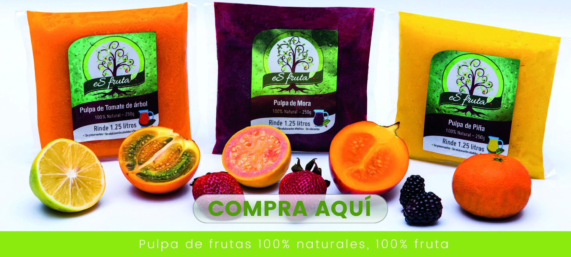 Pulpa de Fruta Natural  - Esfruta